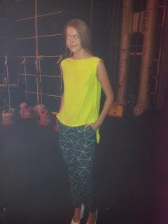 mercedes-benz fashion week australia cameo backstage