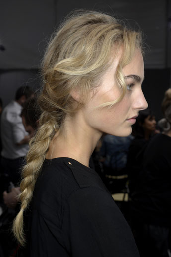 alberta ferreti loose braid 2014