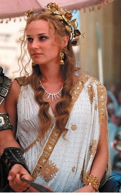 diane kruger playing helen of troy in troy