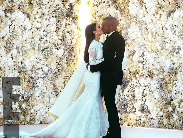 kim kanye wedding
