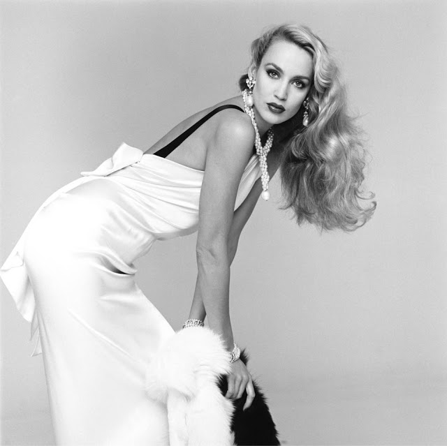 jerry hall 1980s style icon
