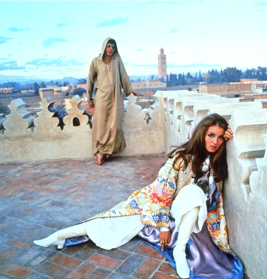 talitha getty 1960s boho style icon
