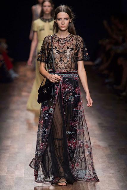 valentino spring summer 2015 bohemian maxi dress