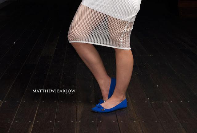 mesh skirt street style