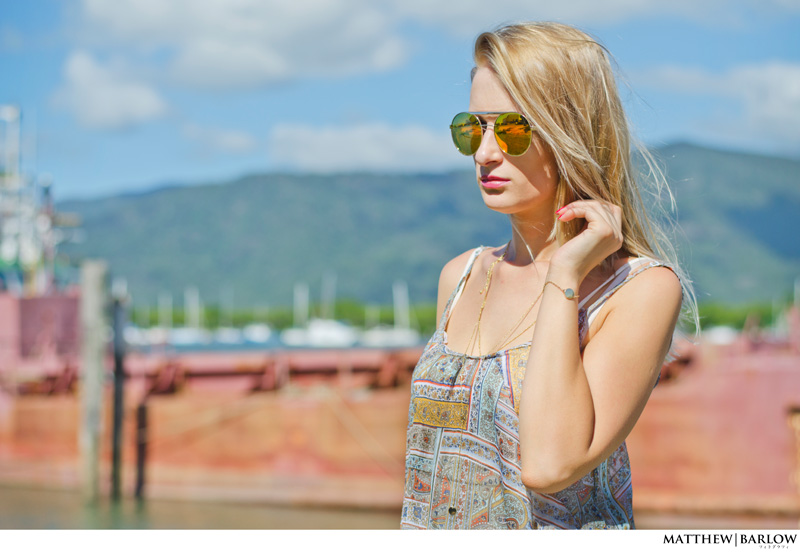 boho dress and aviators festival style