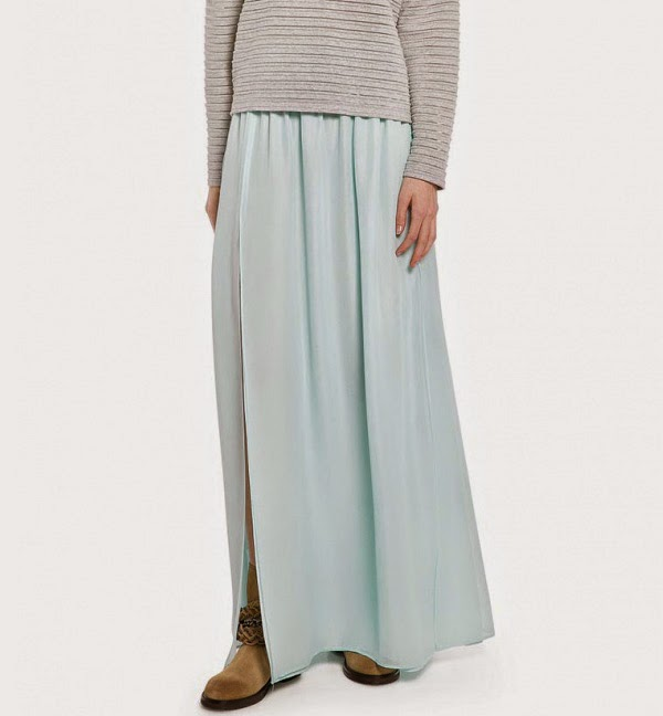 www.stylemoi.nu/thigh-split-pleated-chiffon-maxi-skirt.html