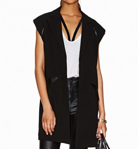http://www.stylemoi.nu/longline-blazer-vest-with-leather-trims.html