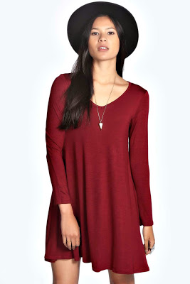 http://t.dgm-au.com/c/94523/30646/1136?u=http%3A%2F%2Fwww.boohoo.com%2Fnew-season-must-haves%2Fmay-v-neck-long-sleevee-swing-dress%2Finvt%2Fazz18990
