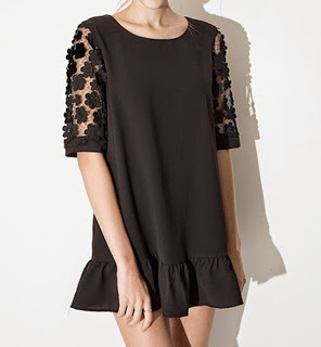 http://www.stylemoi.nu/lace-sleeve-frill-hem-shift-dress.html?acc=95