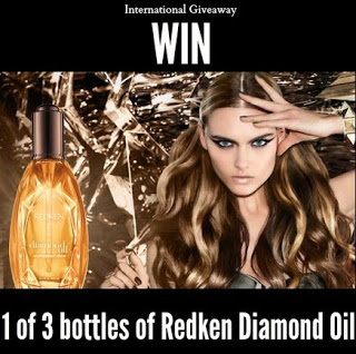 4 Lazy Day Hairstyles & Redken Diamond Oil International GIVEAWAY!