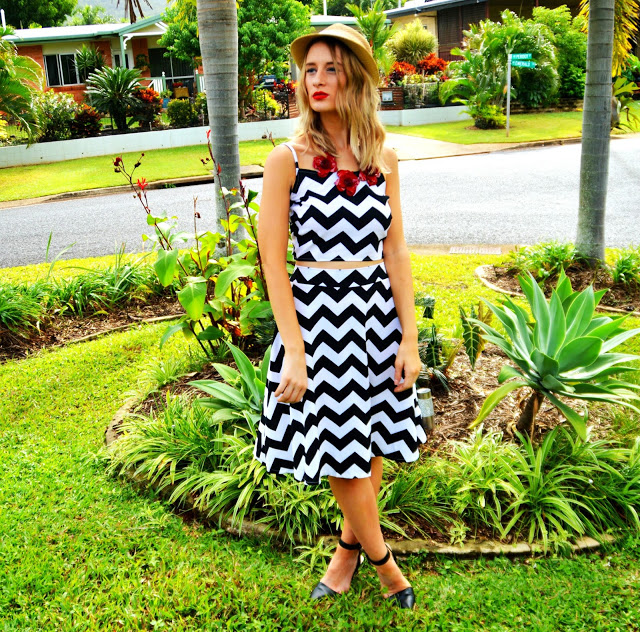 The Look: Chevron Duo