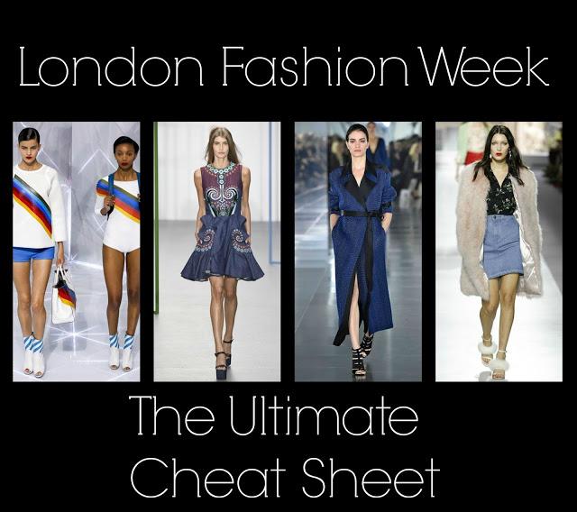The Ultimate London Fashion Week Cheat Sheet