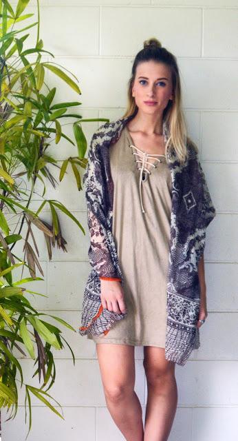 scarf bohemian style