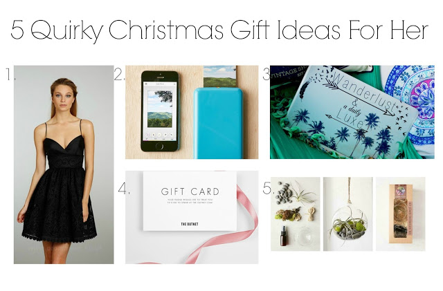 5 Quirky Christmas Gifts For Her