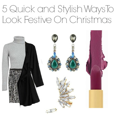 5 Quick and Stylish Ways To Look Festive On Christmas