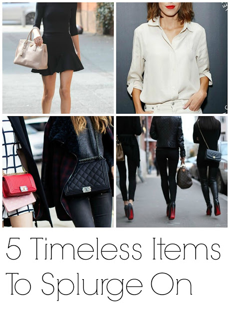 fashion investment pieces