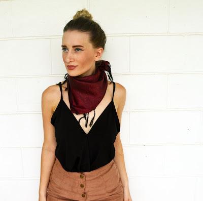 bandanna scarf
