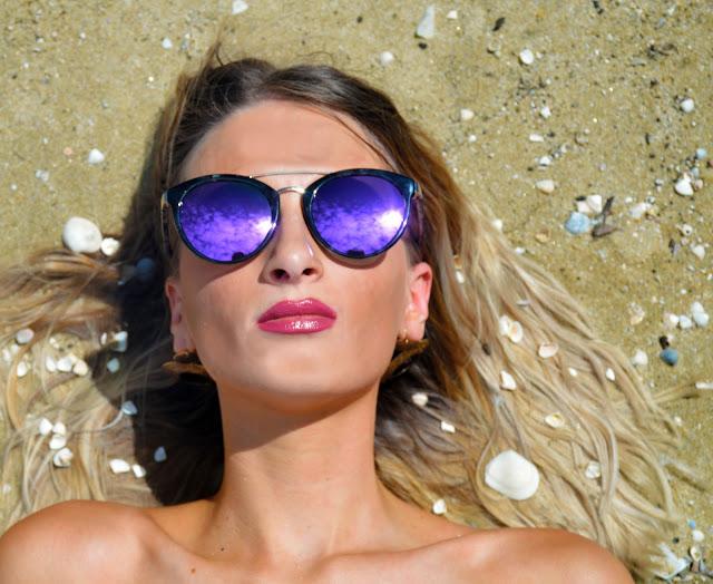 hair beach shells