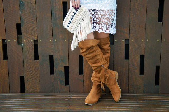 over knee boots style