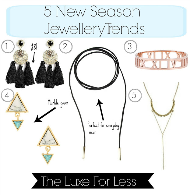 5 STUNNING Jewellery Trends For S/S 2016