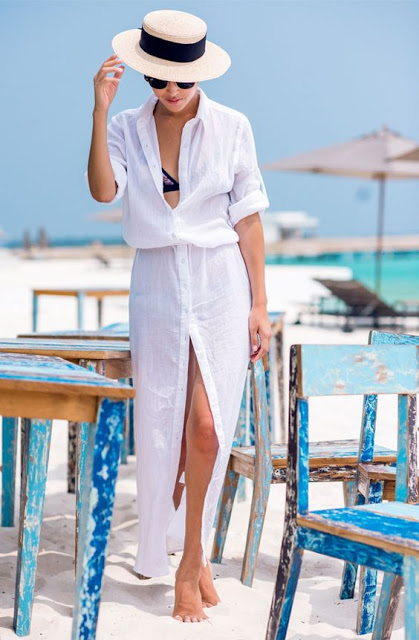 shirt dress beach