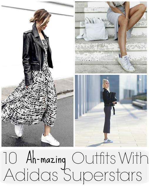 10 Ah-mazing Outfits With Adidas Superstars