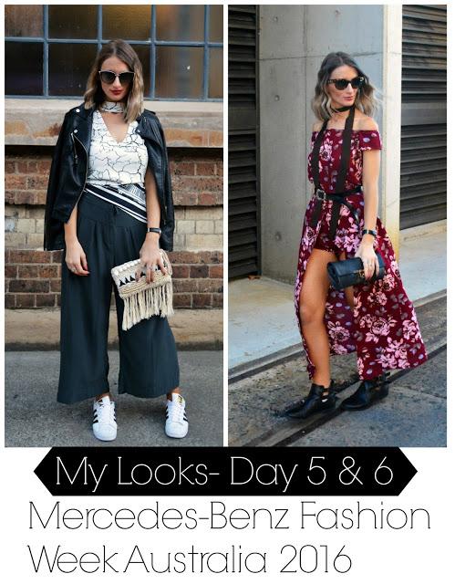 Mercedes-Benz Fashion Week Australia: My Style (Days 5 and 6)