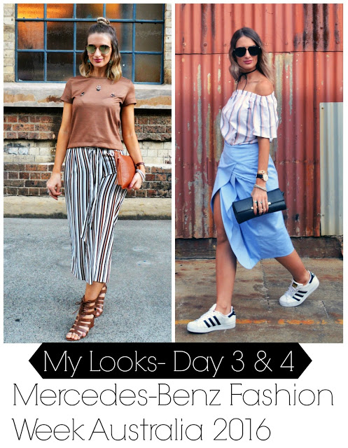 Mercedes-Benz Fashion Week Australia: My Style (Days 3 & 4)
