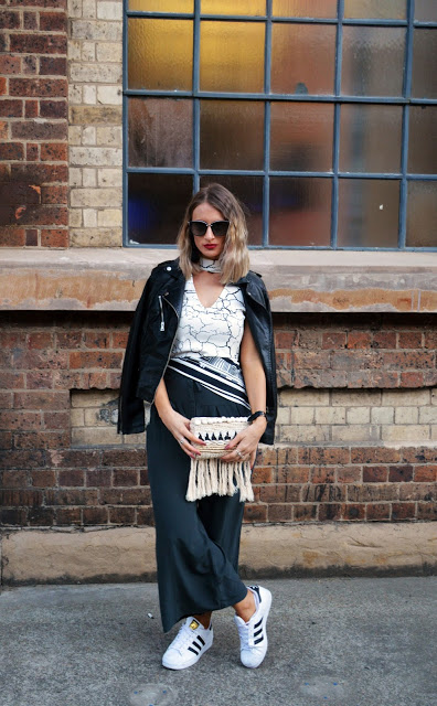 Mercedes-benz fashion week australia street style