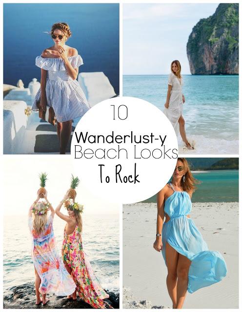 10 Wanderlust-y Beach Looks To Rock