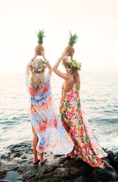 models beach shoot