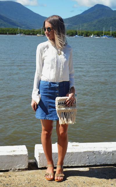 style extra long sleeve blouse