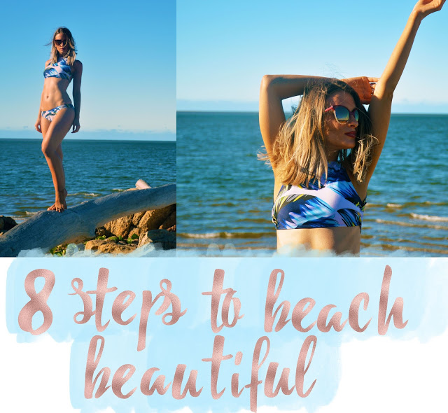 how to look good on the beach