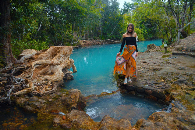 natural blue pool in Australia