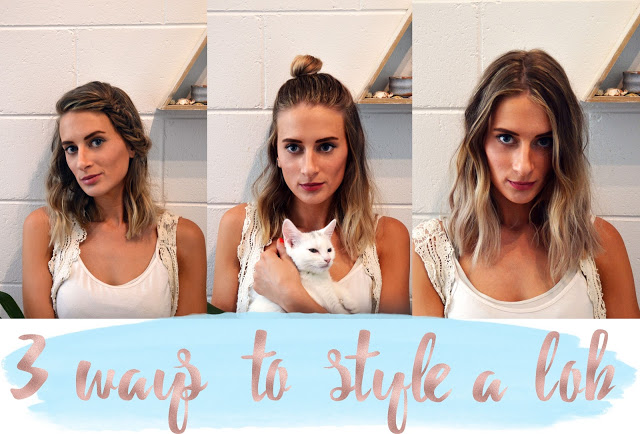 how to style a lob