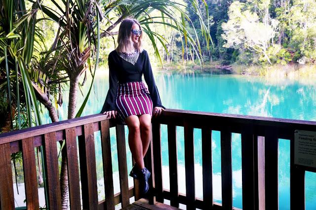 lake eacham blue rainforest lake