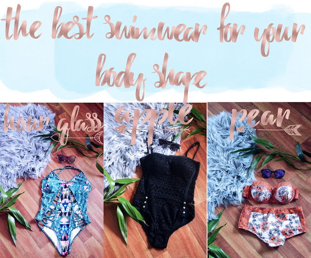how to find the best swimsuit for your body shape apple shape pear shade hour glass shape