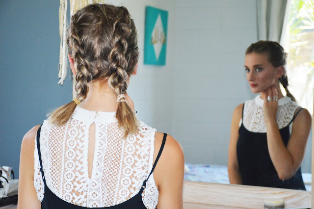 boxer braids lob mid length hair
