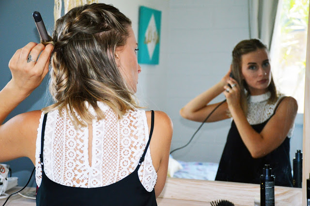 how to create effortless beach waves for your lob