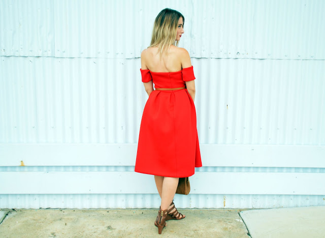 off shoulder red prom dress tailor your dress yourself