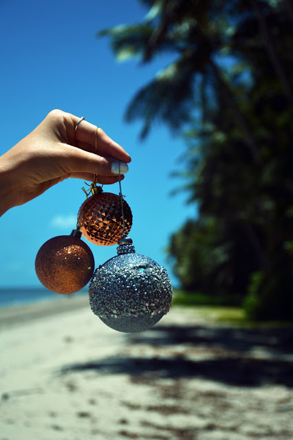 Australian Christmas on beach