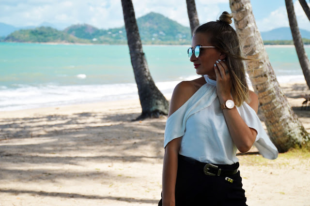 outfit white off shoulder blouse
