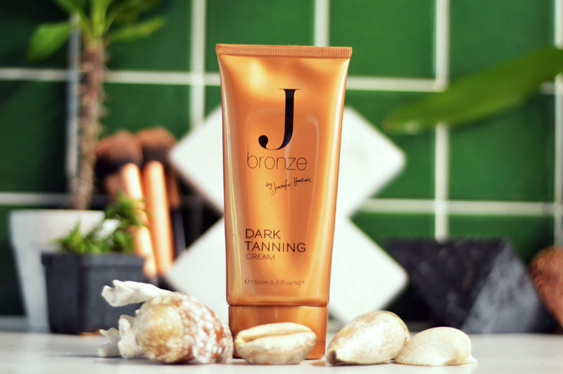 j bronze dark tanning cream review fake tan guide