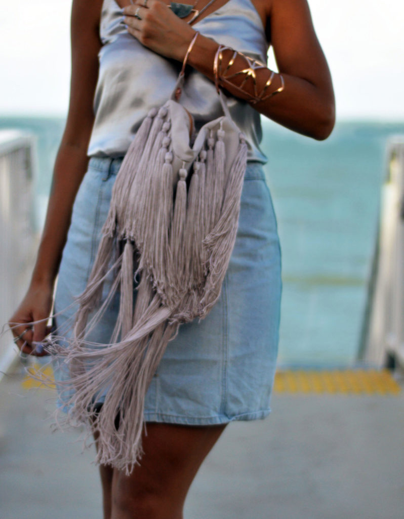 statement tassel bag the madame bag