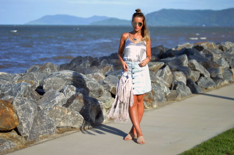 5 Ways to Style A Silk Cami