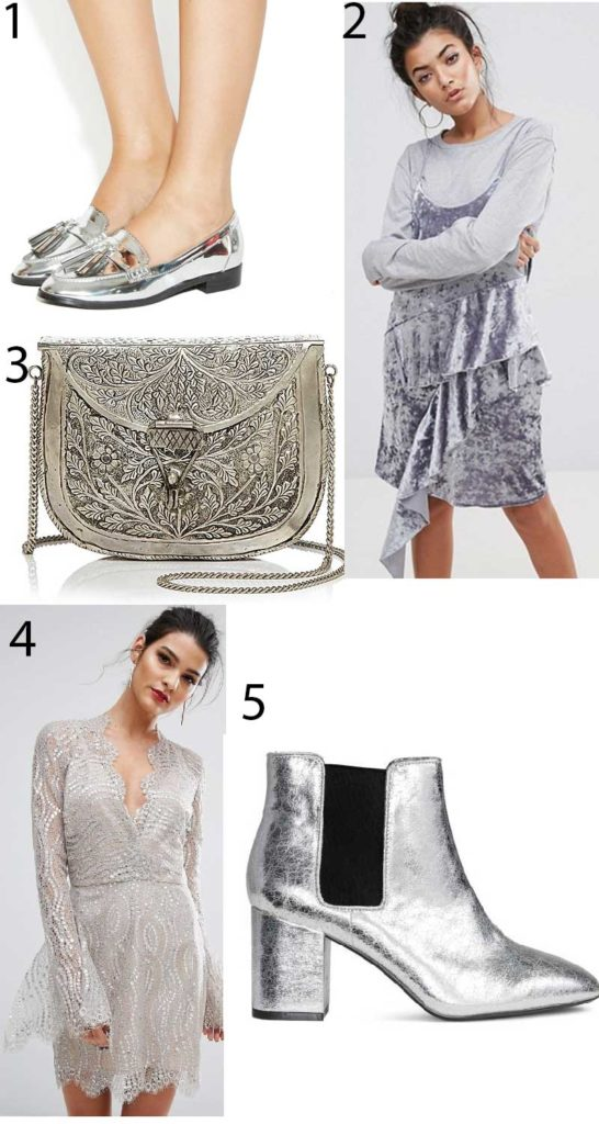 shop the most fashionable silver pieces trend 2017