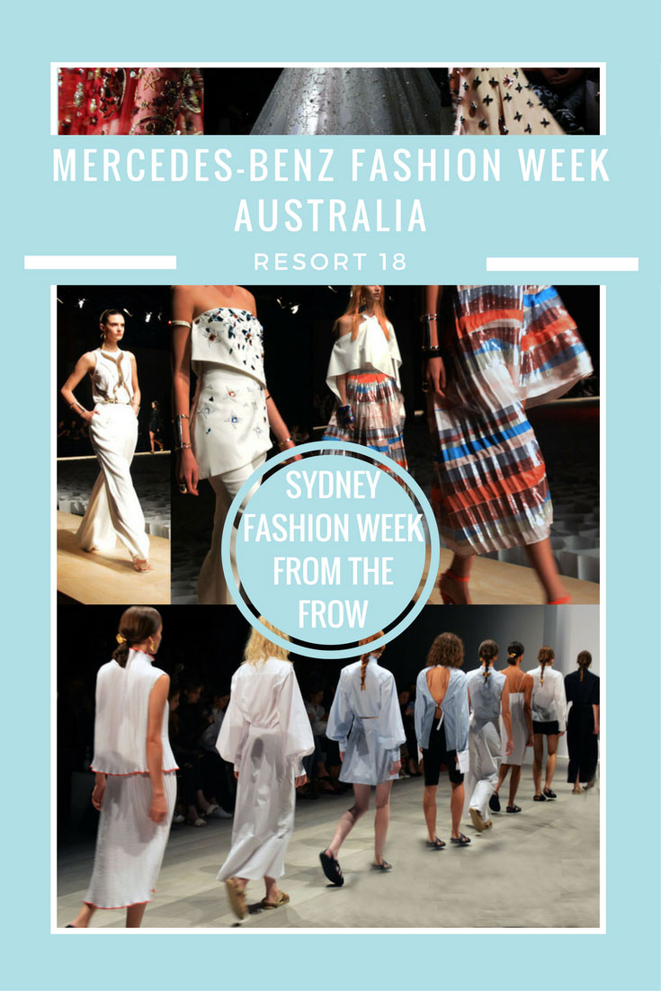 MBFWA Resort 18 Shows: Sydney Fashion Week From The Frow