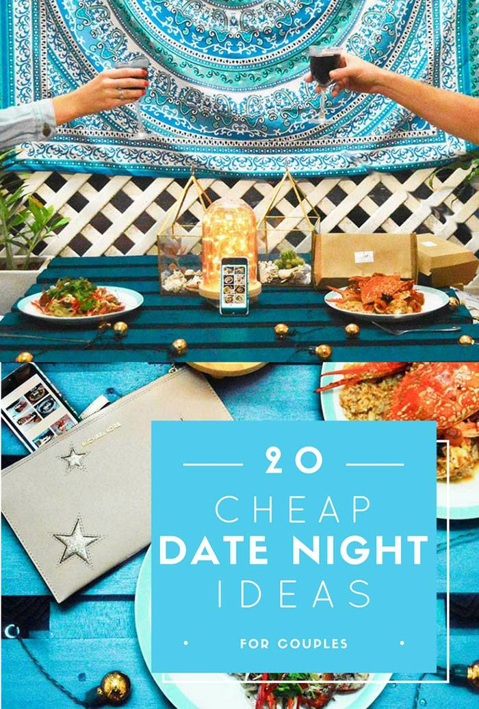 20 Cheap Date Night Ideas ft. UberEATS