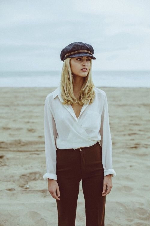 retro newsboy cap baker boy hat outfit