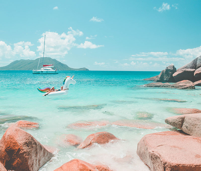 Fitzroy Island Queensland: The Trendy Pool Floats That Will Inflate Your Instagram In